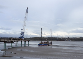 North side bridge works – November 2014
