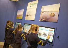 Mersey Gateway visitor centre opens to the public – February 2015