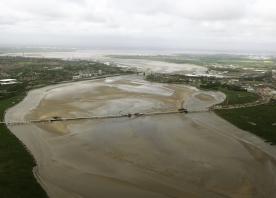 Aerial view of the Mersey Gateway – May 2015