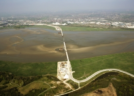 Aerial view of the Mersey Gateway – April 2015