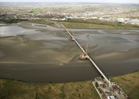Aerial view of the Mersey Gateway – November 2015