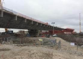 North Approach Viaduct and the MSS – March 2016