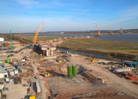 View from the Widnes Tower Crane – March 2016