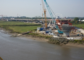 MSS Trinity and north approach viaduct – September 2016