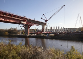MSS Webster over the Manchester Ship Canal – November 2016