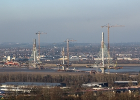 The Mersey Gateway Bridge – January 2017