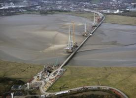 Mersey Gateway bridge – December 2016