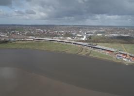 Mersey Gateway drone footage – March 2017