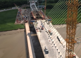 View from south pylon – June 2017