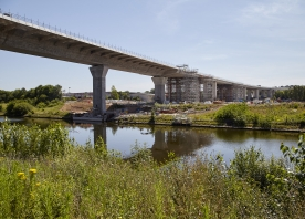 South Approach Viaduct over the Manchester Ship Canal – July 2017