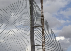 Dismantling of the South Tower Crane – August 2017