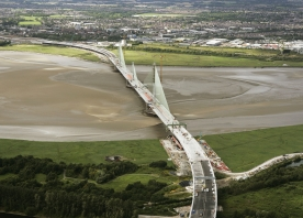 The Mersey Gateway Bridge from the South – July 2017