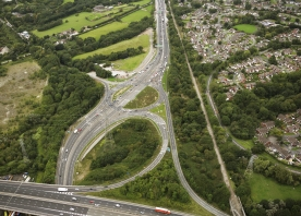 M56 Junction 12 – August 2017