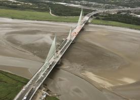 The Mersey Gateway Bridge –  August 2017