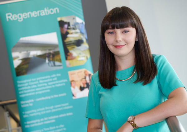 Halton student Louise Cash joins the Merseylink team