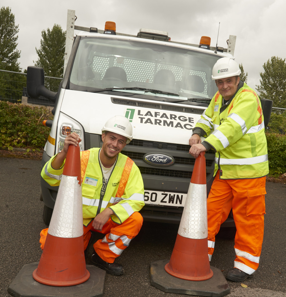 Merseylink apprentices Ryan Lee and Steve Savage