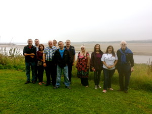 Mersey Gateway volunteers enjoyed a tour of the project site recently.