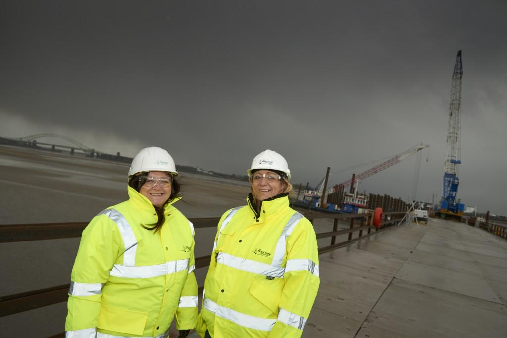 MG volunteers find work - Karen and Yvonne
