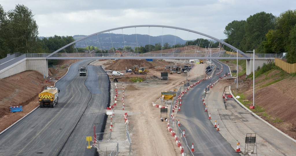 Over 10,200 tonnes of tarmac was laid on the refurbished stretch of the Central Expressway in Runcorn