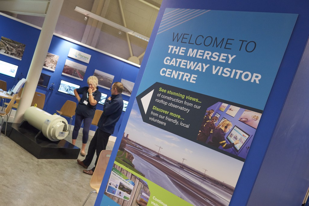 The Mersey Gateway visitor centre at the Catalyst Museum is well worth a visit.