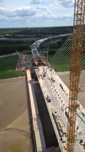 View from south pylon - June 2017