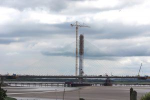 North pylon - June 2017